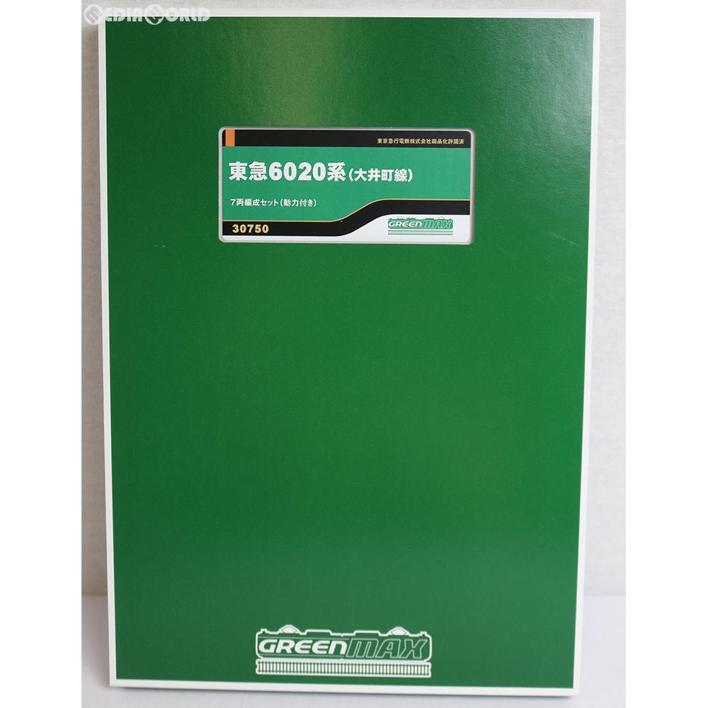 【新品】【お取り寄せ】[RWM]30750 東急6020系(大井町線) 7両編成セット(動力付き) Nゲージ 鉄道模型 GREENMAX(グリーンマックス)(20181220)