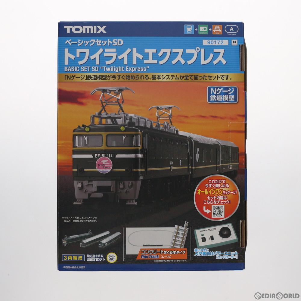 【新品】【O倉庫】[RWM]90172 ベーシックセットSD トワイライトエクスプレス Nゲージ 鉄道模型 TOMIX(トミックス)(20150630)