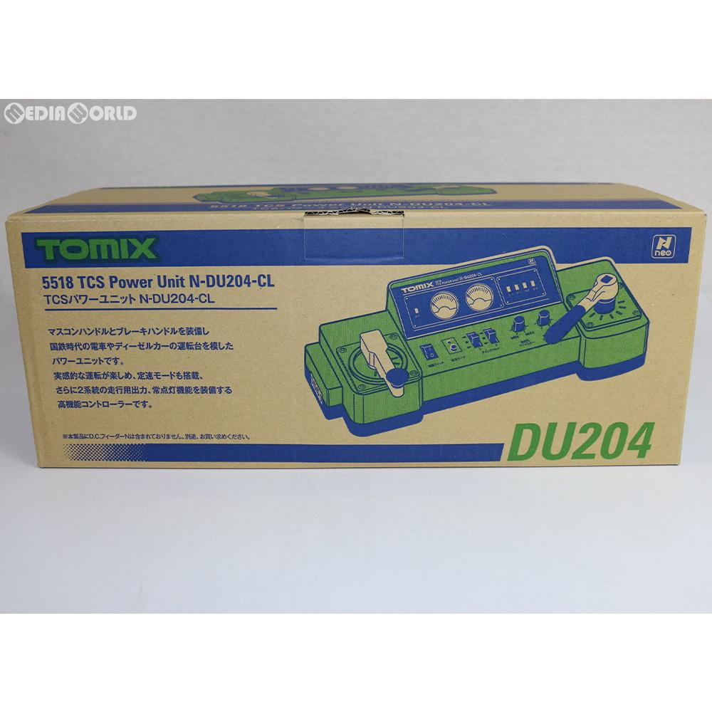 【新品】【O倉庫】[RWM]5518 TCSパワーユニットN-DU204-CL Nゲージ 鉄道模型 TOMIX(トミックス)(20161231)