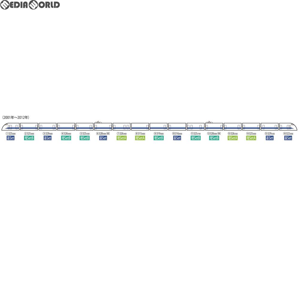 【新品】【O倉庫】[RWM]98661 JR 300-3000系東海道・山陽新幹線(後期型)増結セットB(6両) Nゲージ 鉄道模型 TOMIX(トミックス)(20190126)