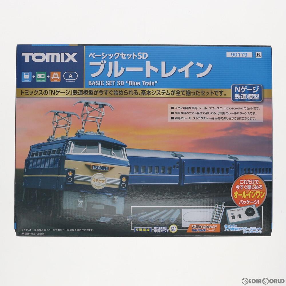 【新品】【O倉庫】[RWM]90179 ベーシックセットSD ブルートレイン 5両セット Nゲージ 鉄道模型 TOMIX(トミックス)(20181208)