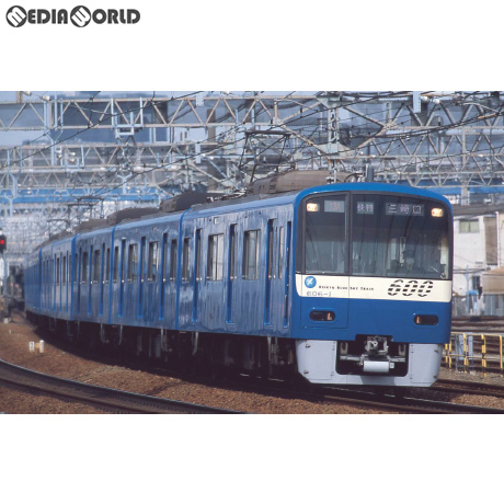 【予約安心発送】[RWM]A7178 京急600形・KEIKYU BLUE SKY TRAIN・SRアンテナ付・8両セット Nゲージ 鉄道模型 MICRO ACE(マイクロエース)(2019年2月)
