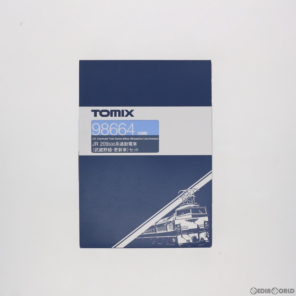 【新品】【O倉庫】[RWM]98664 JR 209-500系通勤電車(武蔵野線・更新車)セット(8両) Nゲージ 鉄道模型 TOMIX(トミックス)(20190324)