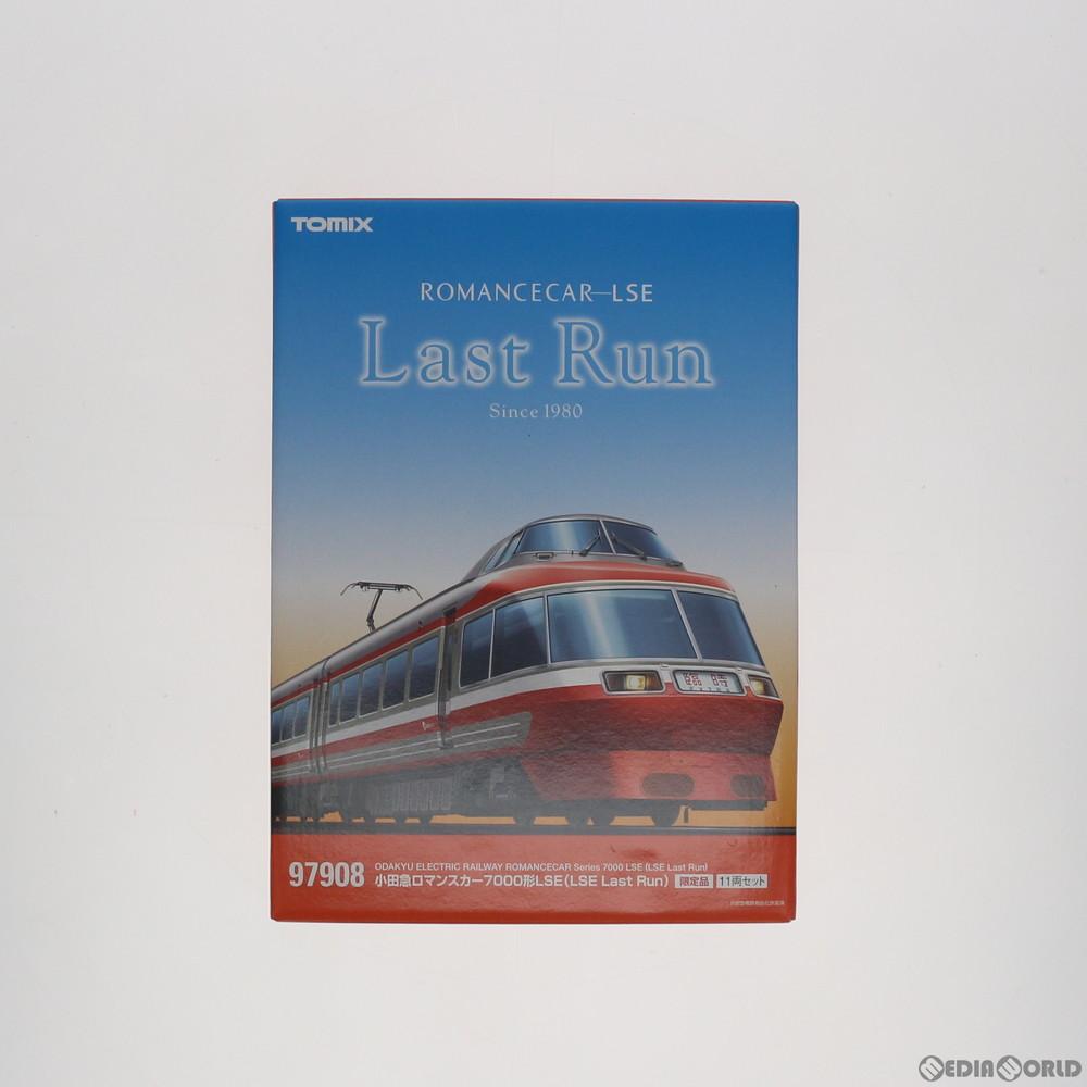 【予約安心発送】[RWM]97908 限定品 小田急ロマンスカー7000形LSE(LSE Last Run)セット(11両) Nゲージ 鉄道模型 TOMIX(トミックス)(2019年3月)
