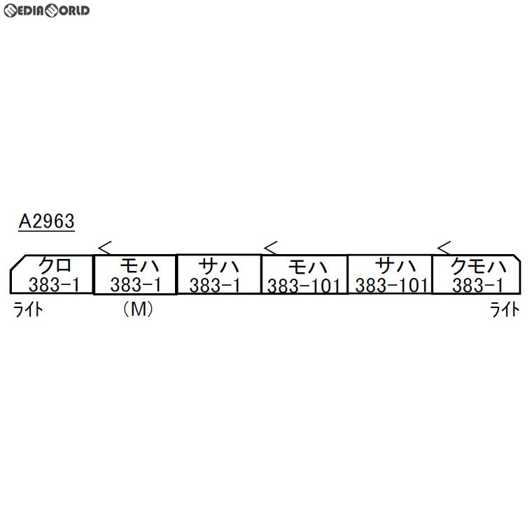 正規激安 【予約安心発送】[RWM]A2963 383系 特急しなの 改良品 383系・量産先行編成 6両セット 特急しなの Nゲージ Nゲージ 鉄道模型 MICRO ACE(マイクロエース)(2019年5月), MINAKO JEWELRY:fa1ba036 --- demo.merge-energy.com.my