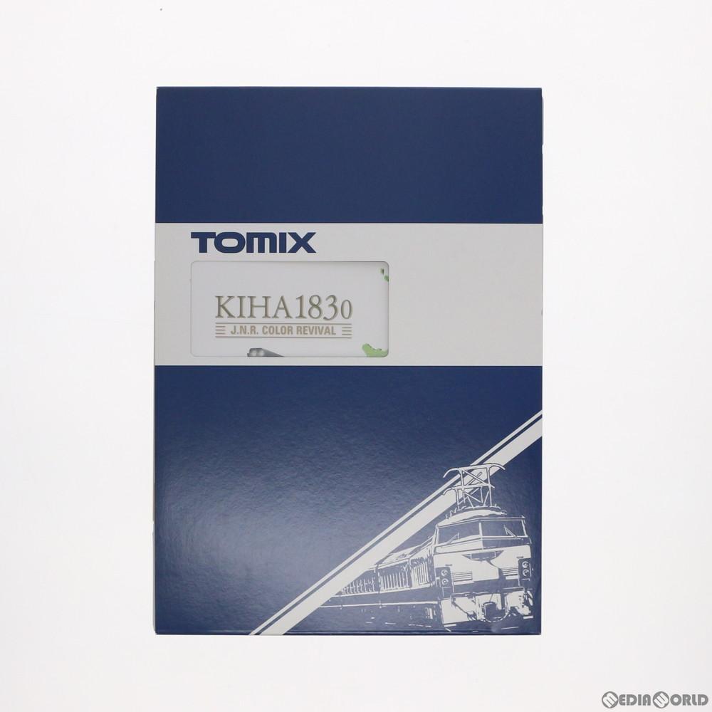 【予約安心発送】[RWM]97906 限定品 JR キハ183-0系特急ディーゼルカー(復活国鉄色)セット(4両) Nゲージ 鉄道模型 TOMIX(トミックス)(2019年9月)