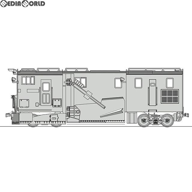 【新品即納】[RWM]16番 国鉄 キ750形 除雪車 組立キット HOゲージ 鉄道模型 ワールド工芸(20190322)