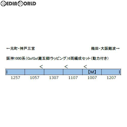 熱販売 【予約安心発送】[RWM]50625 阪神1000系(Go!Go Nゲージ!灘五郷!ラッピング) 6両編成セット(動力付き) Nゲージ 鉄道模型 鉄道模型 GREENMAX(グリーンマックス)(2019年5月), SESAME(セサミ)家具インテリア:ed9d50c4 --- canoncity.azurewebsites.net