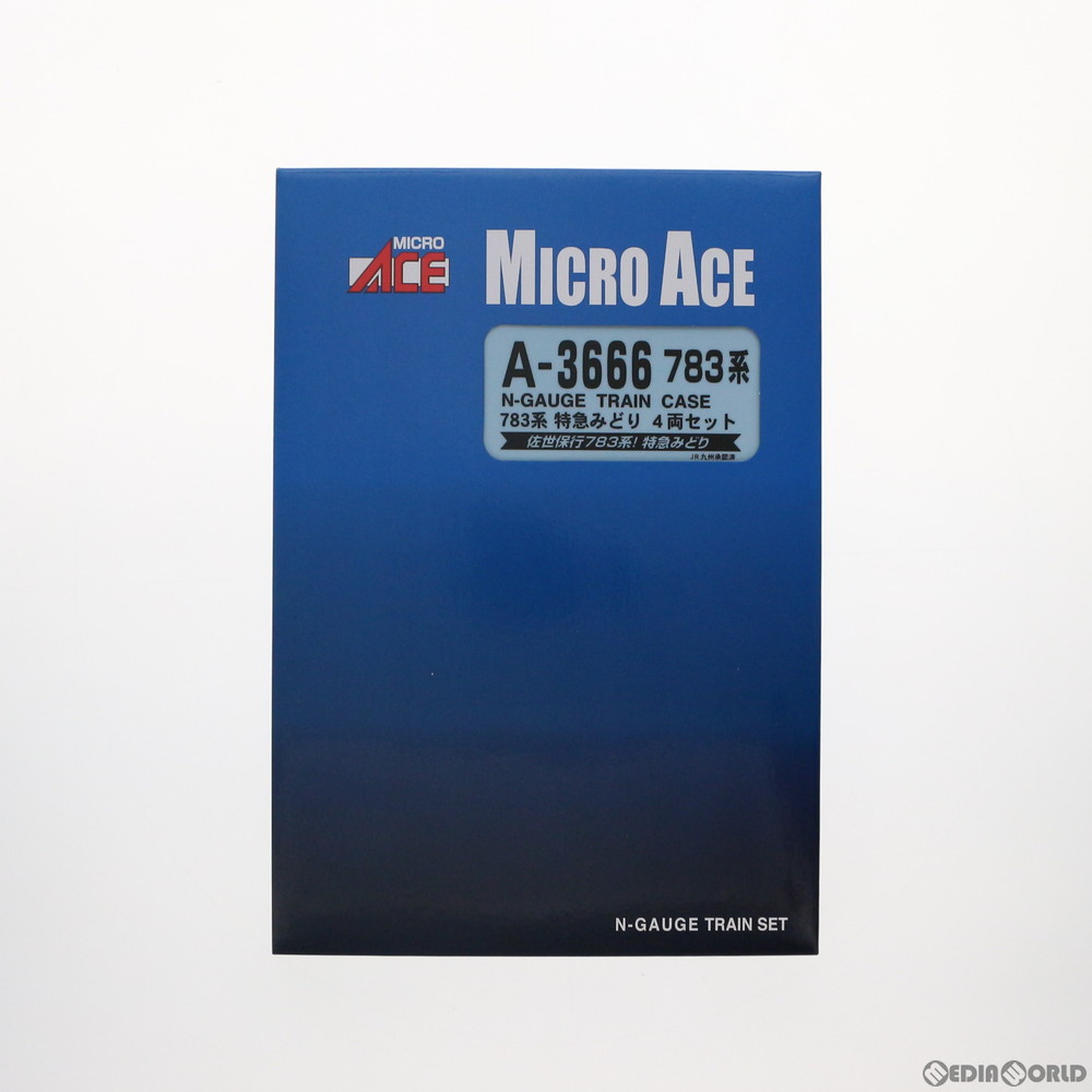 【予約安心発送】[RWM]A3666 783系 特急みどり 4両セット Nゲージ 鉄道模型 MICRO ACE(マイクロエース)(2019年7月)
