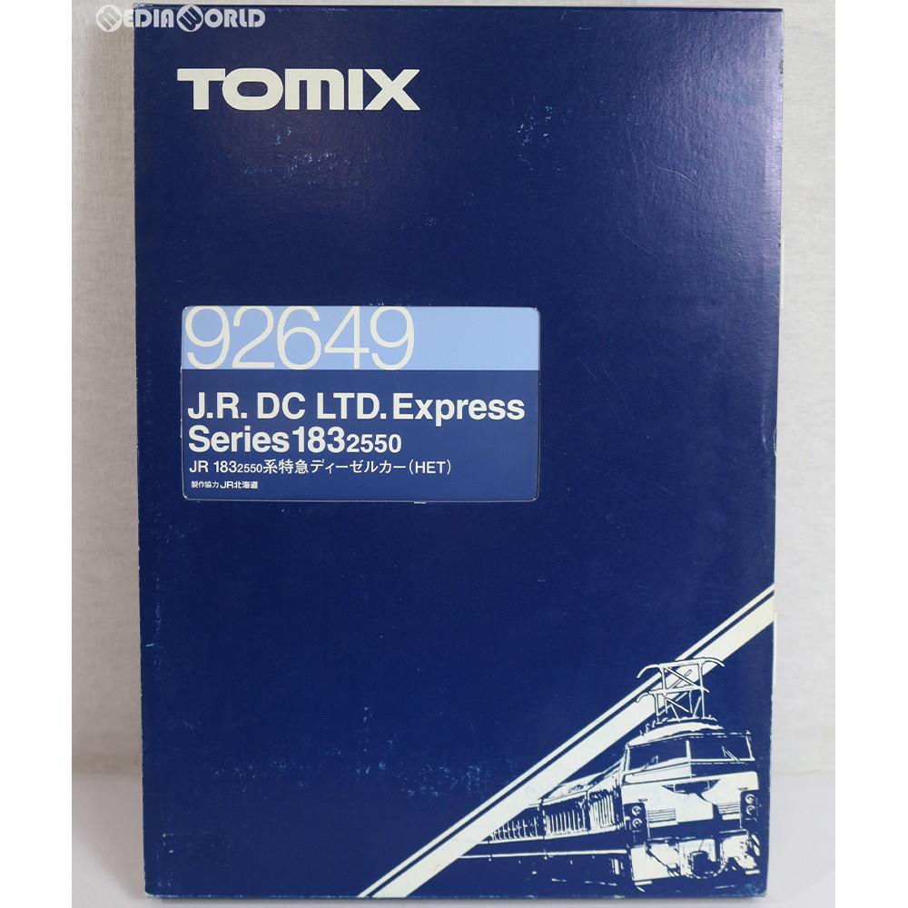【中古】[RWM]92649 JR 183-2550系 特急ディーゼルカー(HET) 6両セット Nゲージ 鉄道模型 TOMIX(トミックス)(20041231)