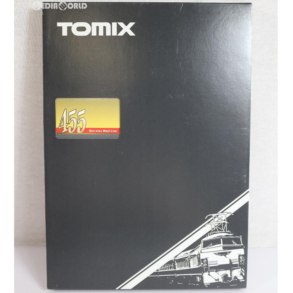 【中古】[RWM]92249 JR 455系電車(磐越西線)セット(3両) Nゲージ 鉄道模型 TOMIX(トミックス)(20040228)