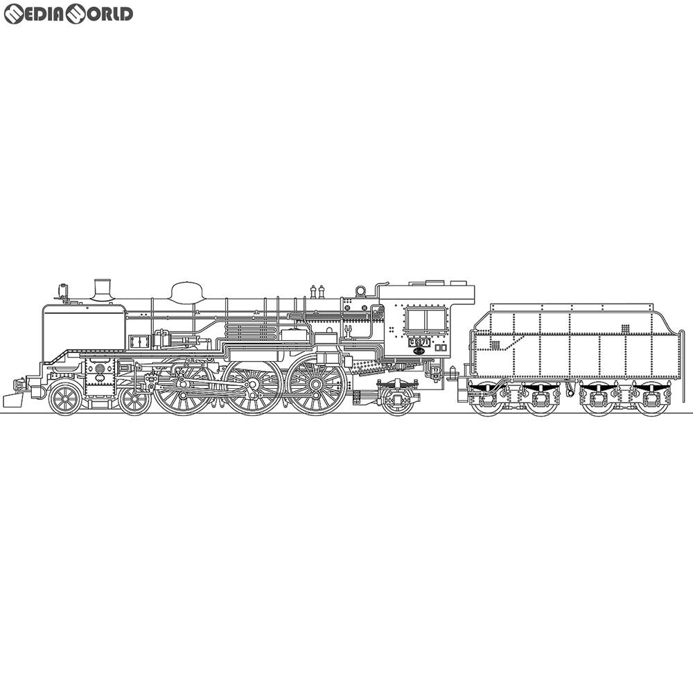【予約安心発送】[RWM]国鉄 C53形 後期型 汽車会社製 蒸気機関車 20立米テンダー 組立キット Nゲージ 鉄道模型 ワールド工芸(2019年5月)