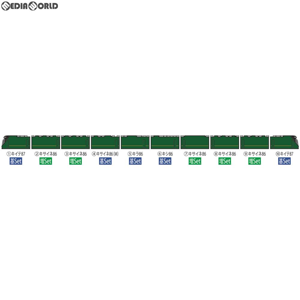 【予約安心発送】[RWM]98332 JR 87系寝台ディーゼルカー(TWILIGHT EXPRESS 瑞風)増結セット(5両) Nゲージ 鉄道模型 TOMIX(トミックス)(2019年9月)