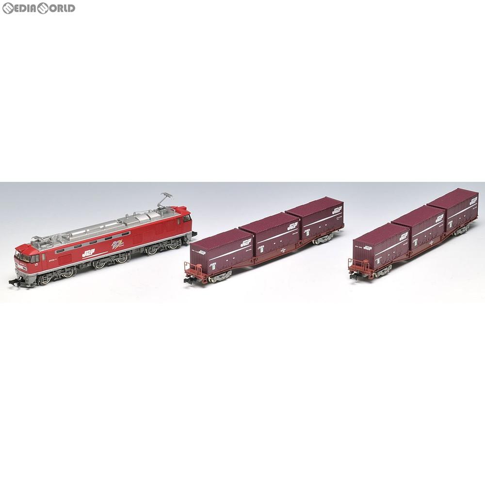 【新品】【O倉庫】[RWM]92417 JR EF510形コンテナ列車セット 3両セット Nゲージ 鉄道模型 TOMIX(トミックス)(20111130)