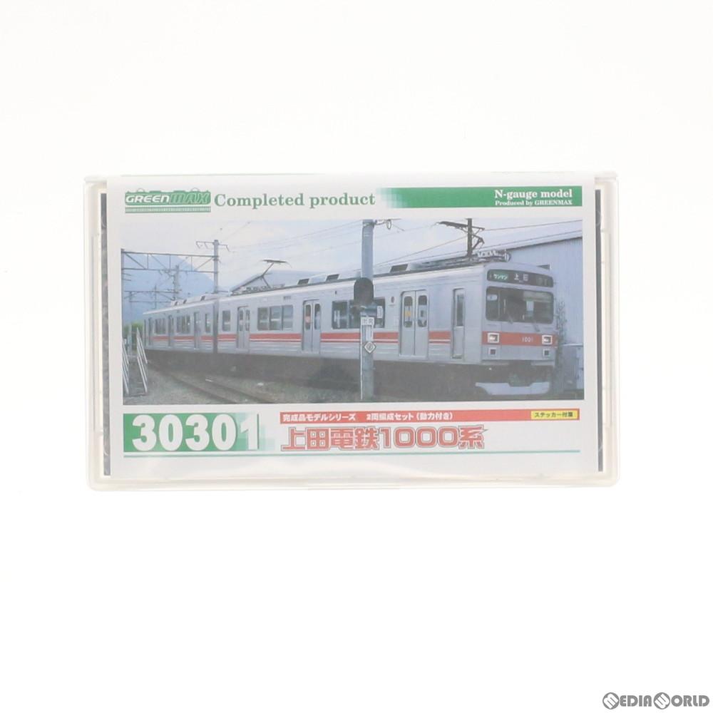 【予約安心発送】[RWM](再販)30301 上田電鉄1000系 2両編成セット(動力付き) Nゲージ 鉄道模型 GREENMAX(グリーンマックス)(2019年11月)