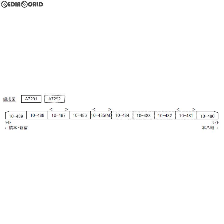 【予約安心発送】[RWM]A7291 都営新宿線・10-300形 基本6両セット Nゲージ 鉄道模型 MICRO ACE(マイクロエース)(2019年12月)