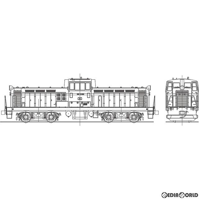 【新品即納】[RWM]16番 国鉄 DD13形 ディーゼル機関車 ヘッドライト1灯タイプ 3次車(41~50号機) 組立キット HOゲージ 鉄道模型 ワールド工芸(20191130)
