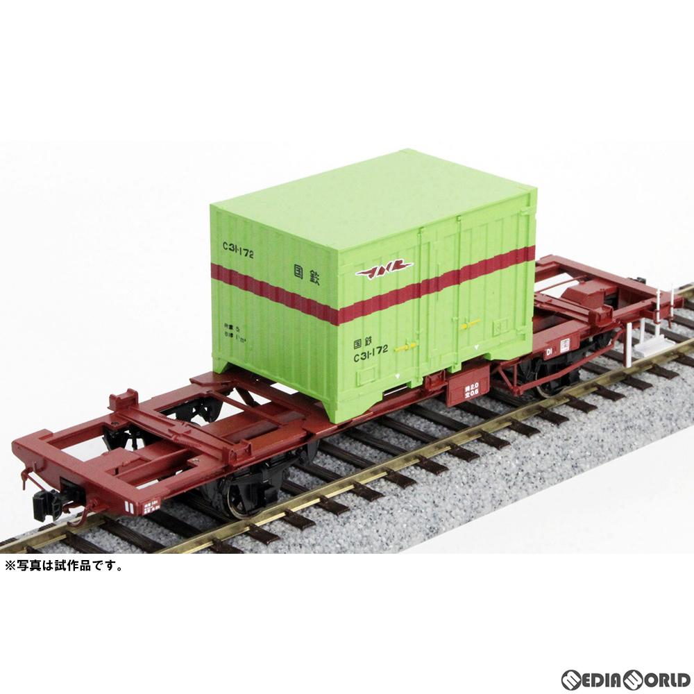 【新品即納】[RWM]【特別企画品】16番 国鉄 コラ1形 コンテナ車 塗装済完成品 HOゲージ 鉄道模型 ワールド工芸(20200420)