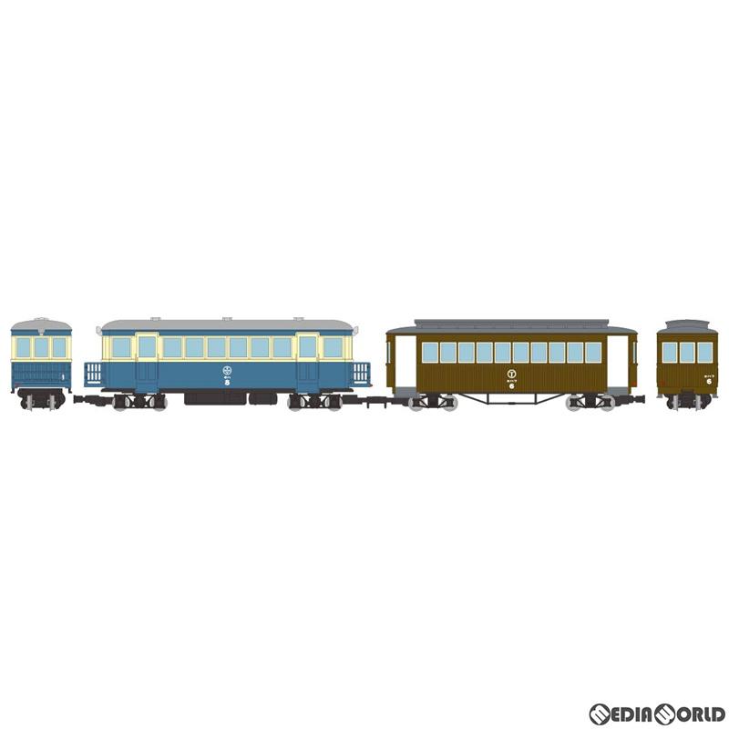【予約安心発送】[RWM]312031 鉄道コレクション(鉄コレ) ナローゲージ80 猫屋線 キハ8新塗装・ホハフ6茶色塗装 2両セット HOナローゲージ 鉄道模型 TOMYTEC(トミーテック)(2020年6月)