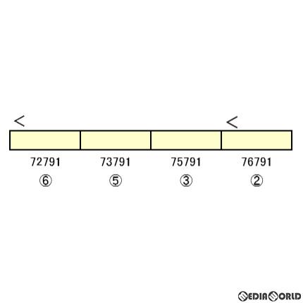 【予約安心発送】[RWM]30967 東武70090型(THライナー) 増結用中間車4両セット(動力無し) Nゲージ 鉄道模型 GREENMAX(グリーンマックス)(2020年7月)