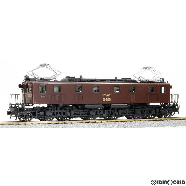 【予約安心発送】[RWM]16番 国鉄 EF10形 6次車 ひさし付き晩年タイプ(35、38号機) 電気機関車 組立キット HOゲージ 鉄道模型 ワールド工芸(2020年7月)