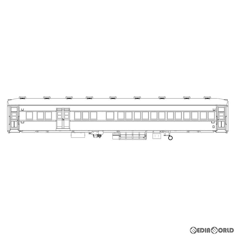 【予約安心発送】[RWM]SRP-901 限定 S.9 ある日の燕編成 丸屋根三等車 6輌セット プラ製組み立てキット(動力無し) HOゲージ 鉄道模型 Maxモデル(2020年12月)