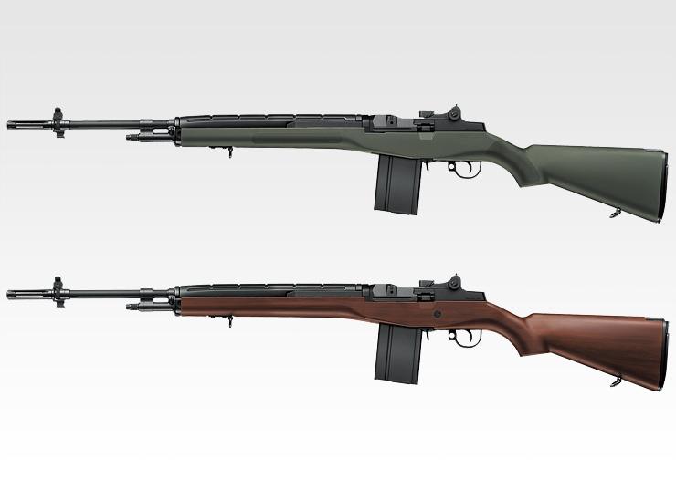 【新品即納】[MIL]東京マルイ スタンダード電動ガン U.S.ライフル M14 ファイバータイプO.D.ストックver. (18歳以上専用)(20050831)