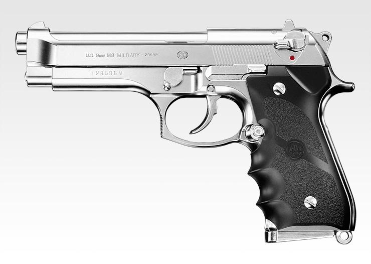 【新品即納】[MIL]東京マルイ ガスブローバック M92F クロームステンレス (18歳以上専用)(20150223)