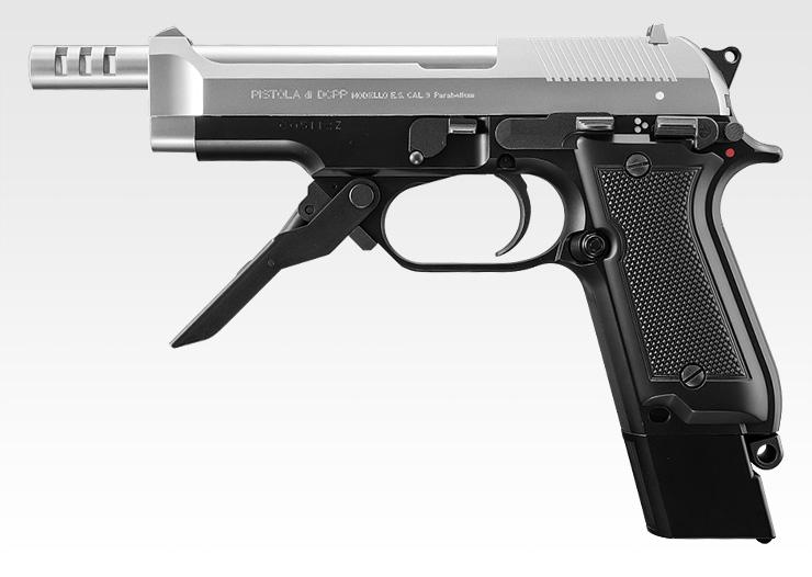 【新品即納】[MIL]東京マルイ 電動ハンドガン M93R シルバースライド (18歳以上専用)(20150223)