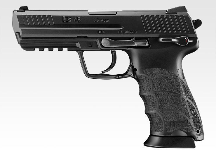 【新品即納】[MIL]東京マルイ ガスブローバック HK45 (18歳以上専用)(20150223)