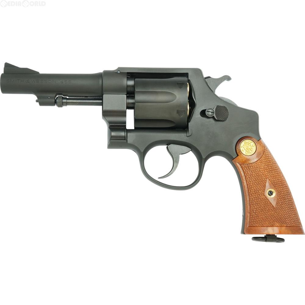 【新品即納】[MIL]タナカワークス ガスリボルバー S&W M1917 .455 HE2 4インチ HW (18歳以上専用)(20160809)