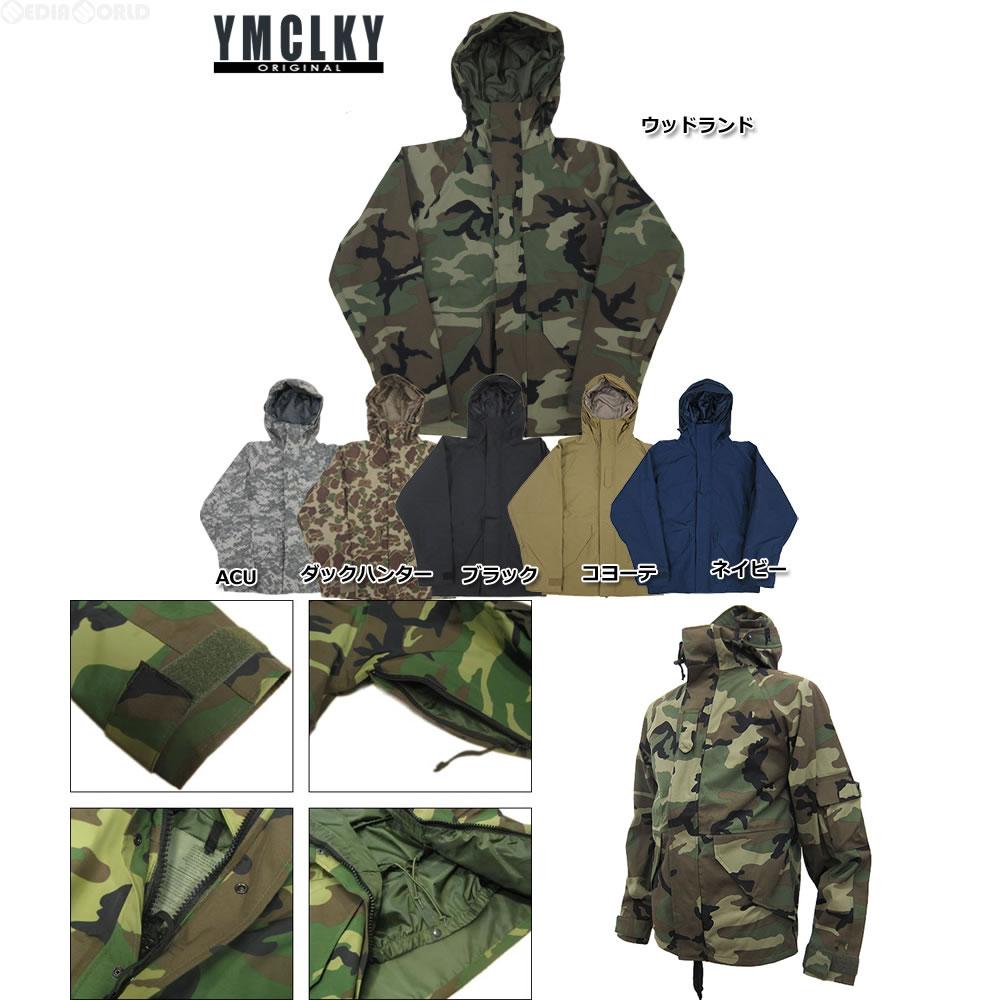 【新品即納】[MIL]YMCL KY ECWCSタイプ ナイロンパーカー ブラック Lサイズ(JP041YN)(20121031)