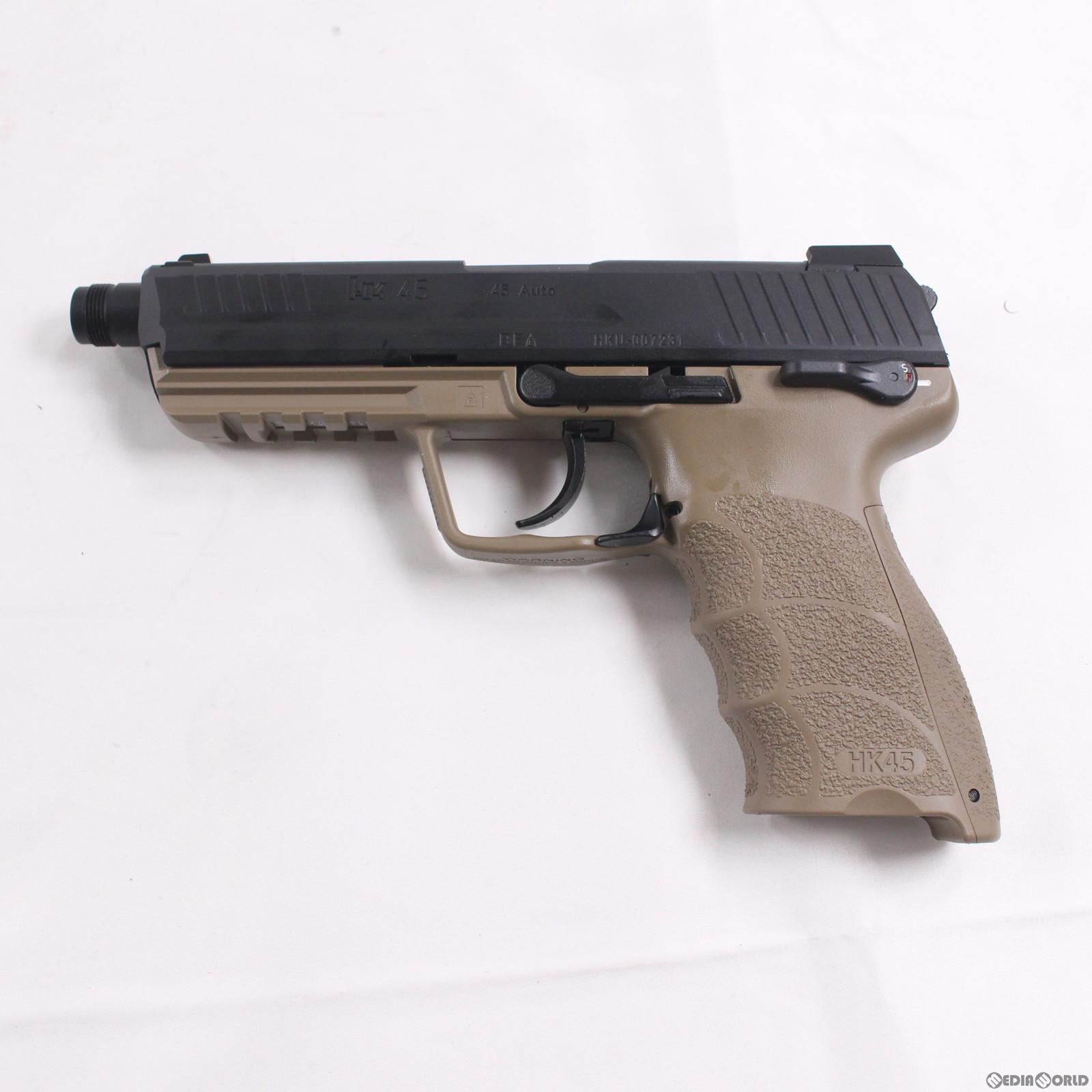 【新品】【O倉庫】[MIL]東京マルイ ガスブローバック HK45 タクティカル (18歳以上専用)(20170118)