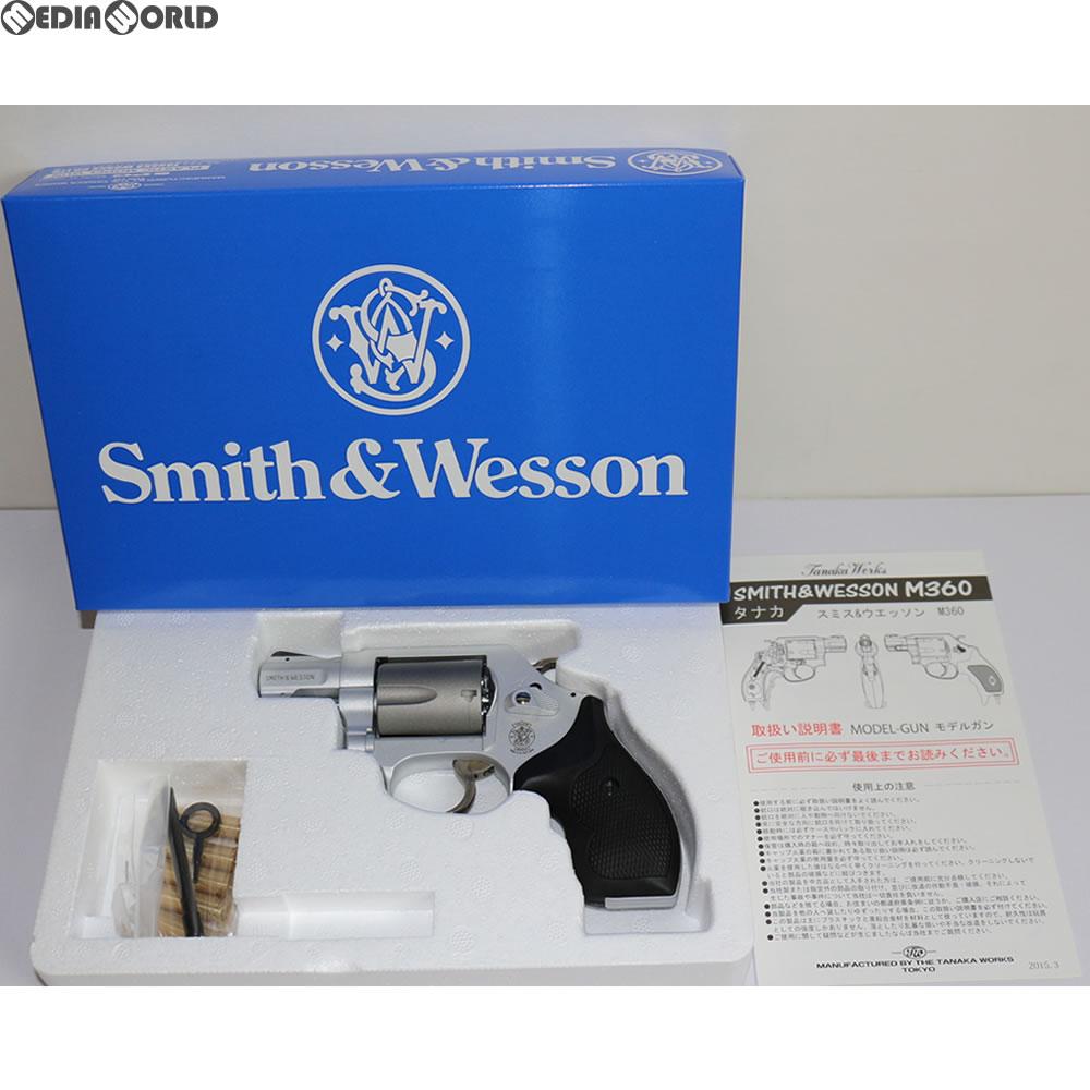 【新品即納】[MIL]タナカワークス 発火モデルガン S&W M360 SC.357マグナム 1-7/8インチ セラコートフィニッシュ(20150731)