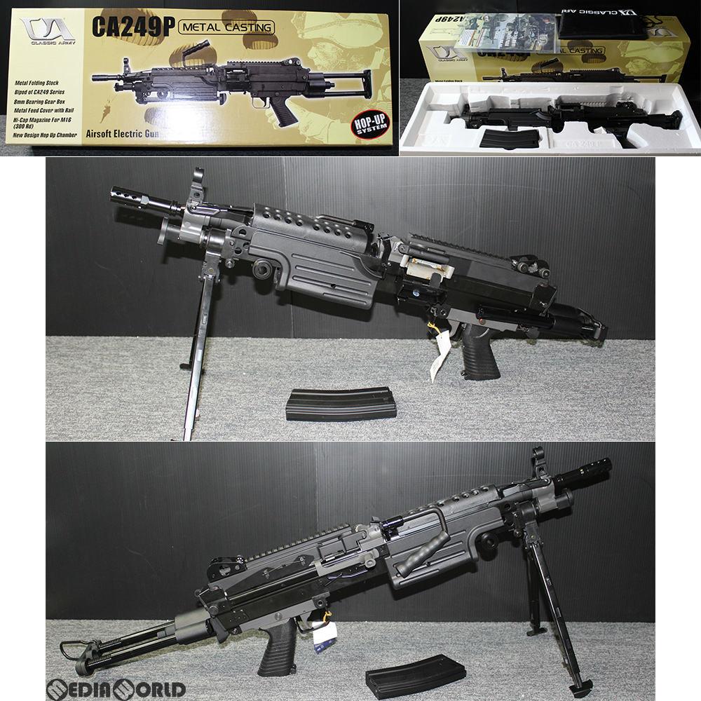 【新品即納】[MIL]CLASSIC ARMY(クラシックアーミー) 電動ガン M249 PARA(パラ) CA249P(CA007M) (18歳以上専用)(20140228)