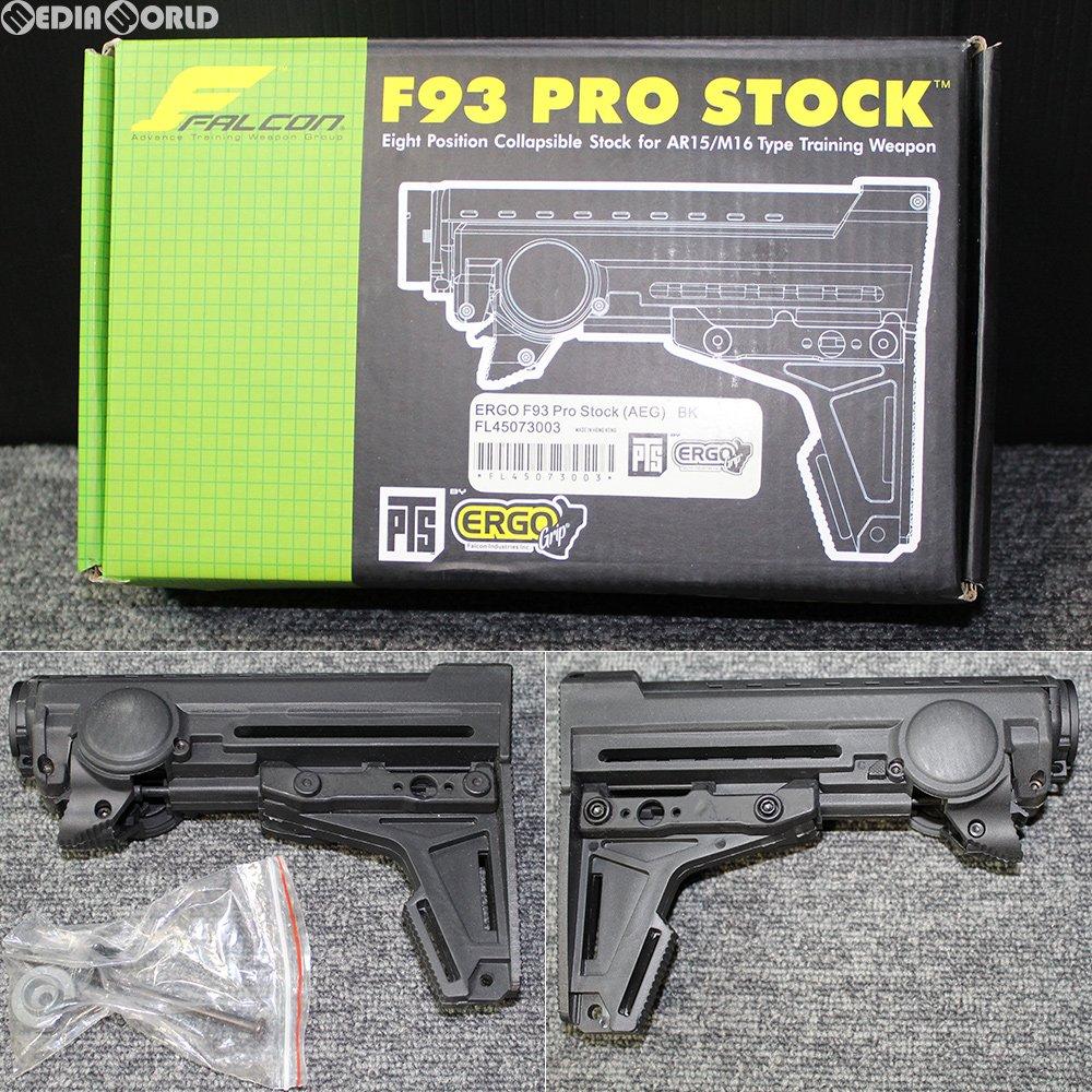 【新品即納】[MIL]電動ガン CASV M4用 MAGPUL(マグプル) M93タイプ ストック BK(ブラック/黒)(KW-ST-010-BK)(20180609)