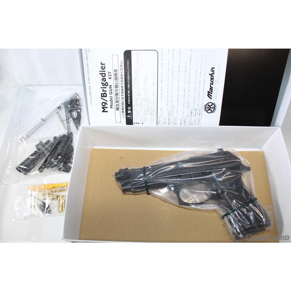 【新品即納】[MIL]マルシン工業 発火モデルガン 組立キット M92F ブリガーディア ブラック ABS(20161031)