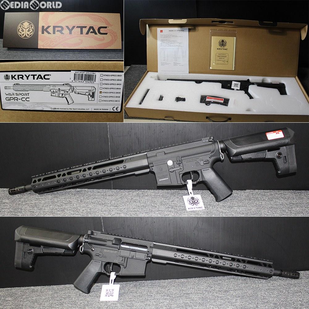 【新品即納】[MIL]KRYTAC(クライタック) 電動アサルトライフル WARSPORT(ウォースポーツ) GPR-CC BK(ブラック/黒) (18歳以上専用)(20180831)