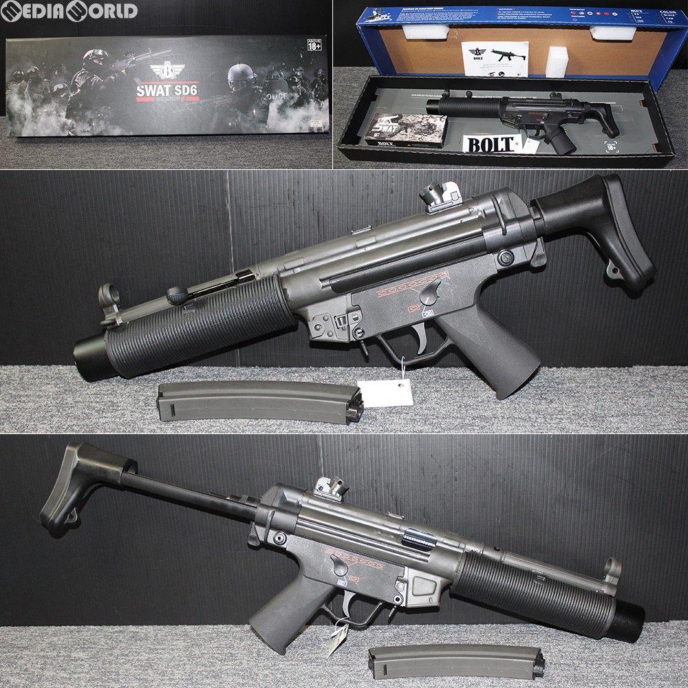【新品即納】[MIL]BOLT AIRSOFT(ボルトエアソフト) 電動アサルトライフル MP5 SD6 SHORTY(ショーティ)(BR-28S)(パッケージJAN無し) (18歳以上専用)(20180131)