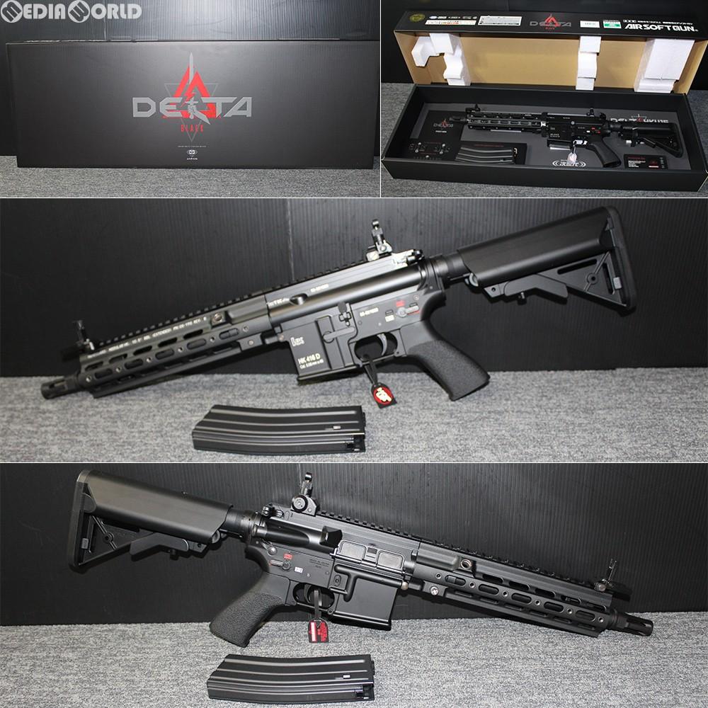 【新品即納】[MIL]東京マルイ 次世代電動ガン HK416 デルタカスタム ブラック (18歳以上専用)(20181116)