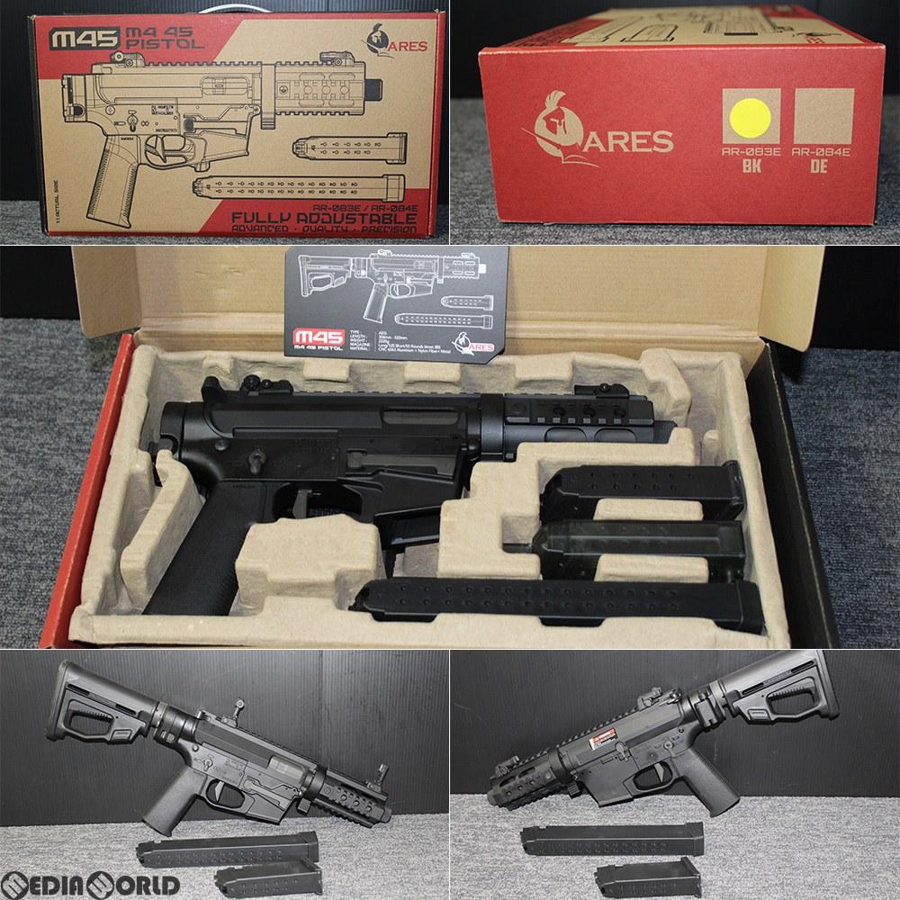 【新品即納】[MIL]ARES(アレス) 電動サブマシンガン M45X ブラック(AR-083E) (18歳以上専用)(20181120)