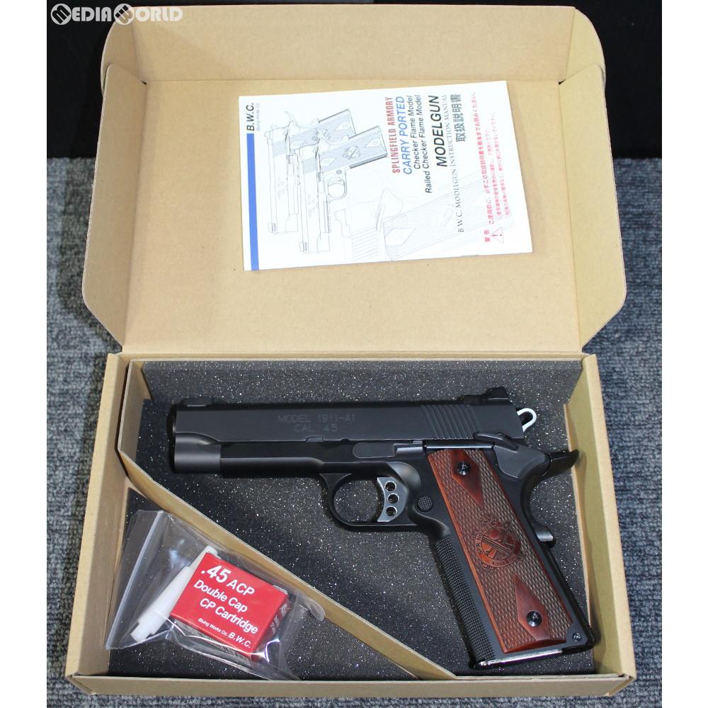 【新品即納】[MIL]B.W.C.(ブルーイングワークスコーポレーション) 限定品 発火モデルガン SFA(スプリングフィールドアーモリー) M1911A1 キャリーポーテッドモデル(20190120)