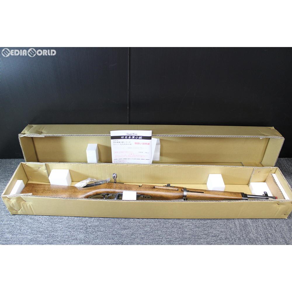 【新品即納】[MIL]タナカワークス ガスライフル 旧日本軍 三八式騎兵銃 Ver.2 グレー・スチール・フィニッシュ (18歳以上専用)(20190615)