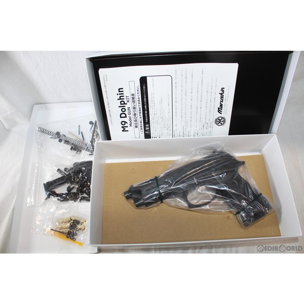 【新品即納】[MIL]マルシン工業 発火モデルガン 組立キット M9 ドルフィン ブラック ABS(20180602)