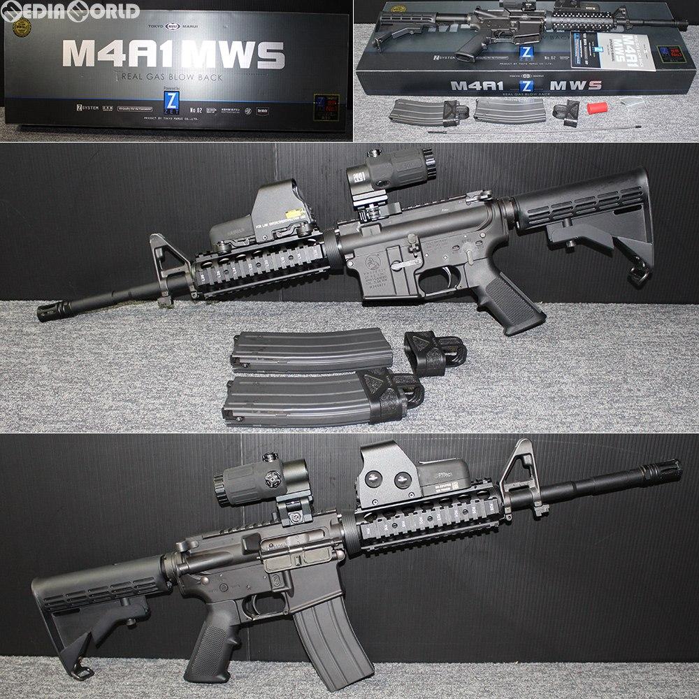 【中古】[MIL]東京マルイ ガスブローバック アサルトライフル M4A1 MWS(カスタム品) (18歳以上専用)(20151130)