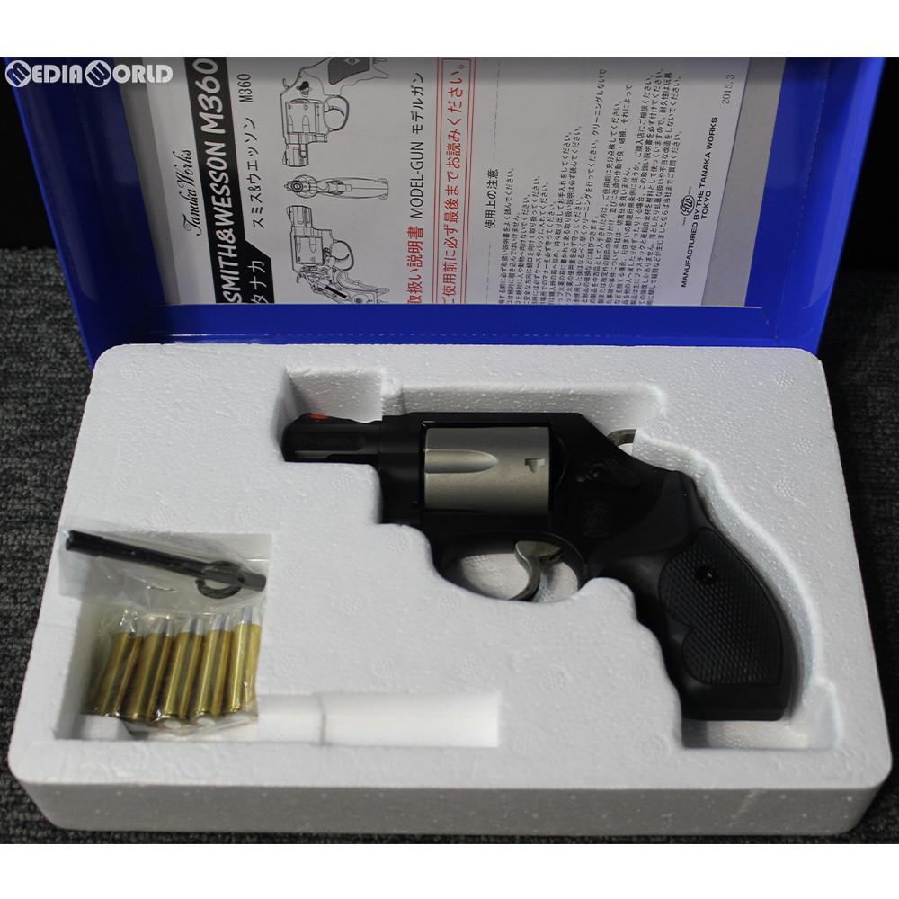 【中古】[MIL]タナカワークス 発火モデルガン S&W(スミスアンドウエッソン) 360PD 1 7/8インチ ABS セラコートフィニッシュ(20150223)