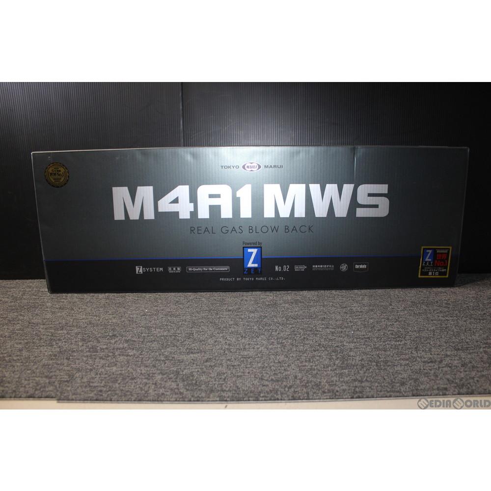 【中古】[MIL]東京マルイ ガスブローバック アサルトライフル M4A1 MWS (18歳以上専用)(20151130)