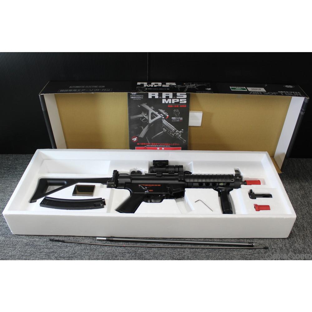 【中古】[MIL]東京マルイ スタンダード電動ガン H&K(ヘッケラーアンドコッホ) MP5 R.A.S. (18歳以上専用)(20121002)