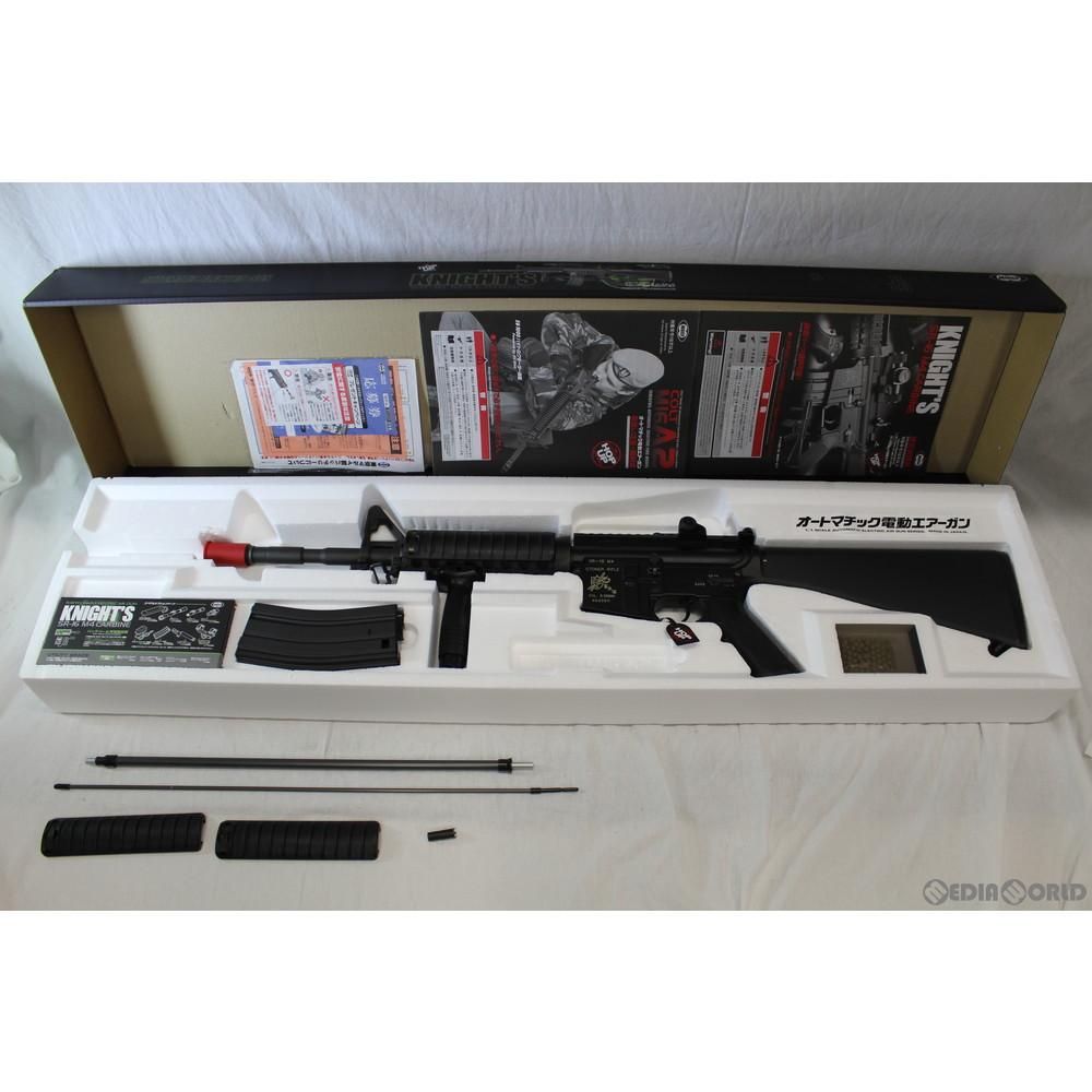 【中古】[MIL]東京マルイ スタンダード電動ガン ナイツSR-16 M4カービン (18歳以上専用)
