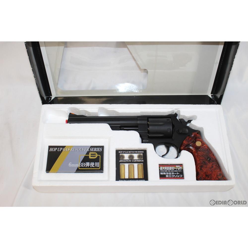 [MIL]クラウンモデル ガスリボルバー S&W M29.44マグナム 6インチ ブラック (18歳以上専用)(20150101):メディアワールド 販売&買取SHOP